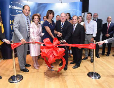 Cyber Range Ribbon Cutting Ceremony
